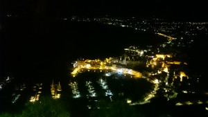 Castellammare del Golfo at night