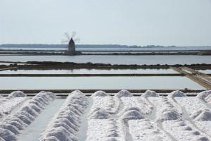 Saline di Trapani - die Salzgewinnung
