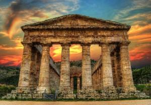 Segesta's temple
